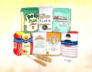 A Bunch of Flours